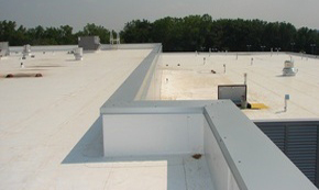 commercial flat roof, commercial roof coatings