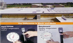Comparing EPDM roof coating products