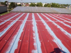 metal roof leaks, leaking metal roof, metal roof coatings