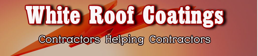 Contractors should use reflective roof coating