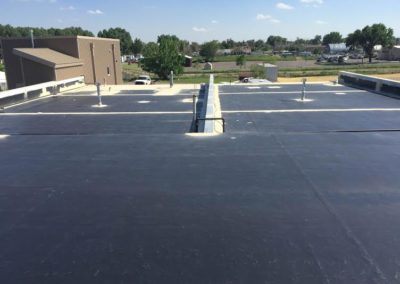EPDM roof with primer in VA