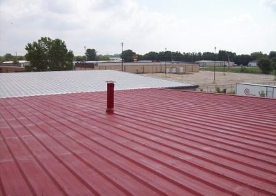 Metal roof with Conklin primer in WI