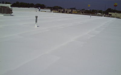 Acrylic or Silicone Roof Coatings
