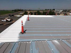 white metal roof coatings id, conklin puma xl roof coatings id