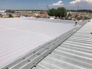 metal roof id, metal roof coatings id