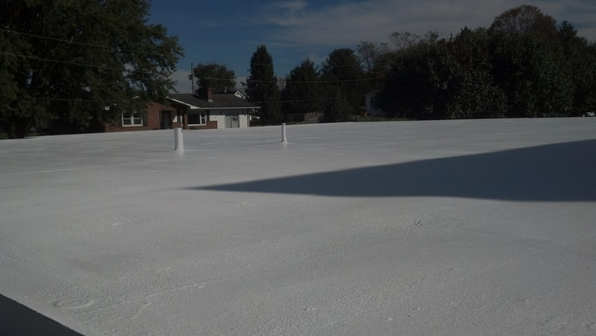 Foam Roofing Coatings White Roofing Systems