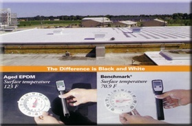 Epdm Roof Coating System White Roofing Systems Conklin