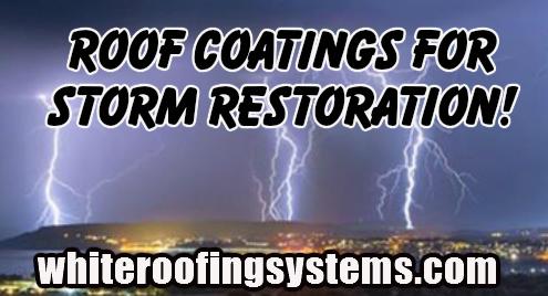 Roof Coatings for Storm Restoration