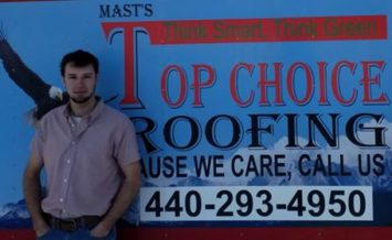 Ohio Conklin Roofing Contractor White Roofing Systems