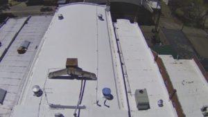 Conklin Top Coat on EPDM Roof in Monte Vista